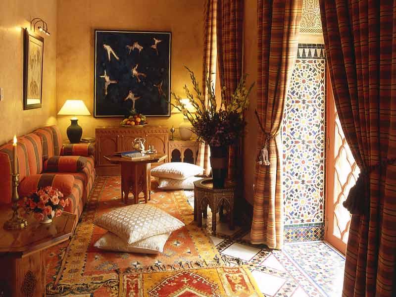Descubre el hotel riad al moussika en la medina de marrakech hotels ryads - Decoracion marruecos ...