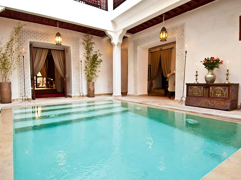 Riad marrakech hotel reserva tu alojamiento marrakech en for Riad medina marrakech avec piscine