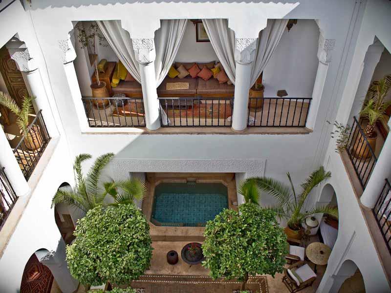 Hotel Decoración marroquí