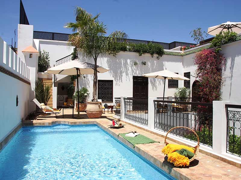 Riad marrakech hotel reserva tu alojamiento marrakech en for Bab hotel marrakech piscine