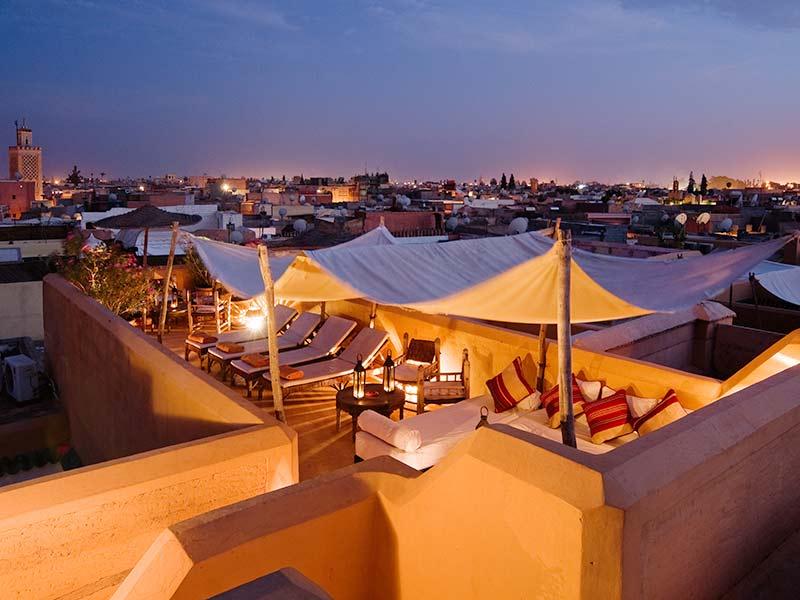 Hotel las m s rom nticas casas de hu spedes de marruecos - Casas marroquies ...