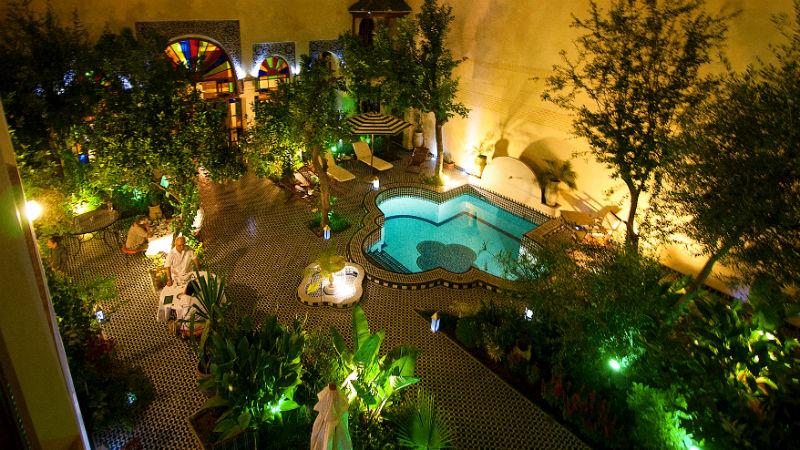 Descubre El Hotel Riad Salama En La Medina De Fez Hotels